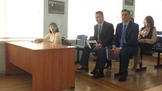 Светлана Малишевская наблюдала работу комиссии по регламенту